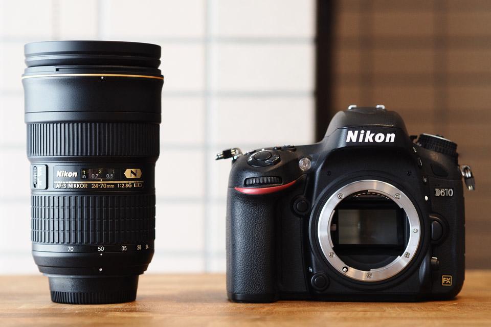 カメラとレンズのイメージ